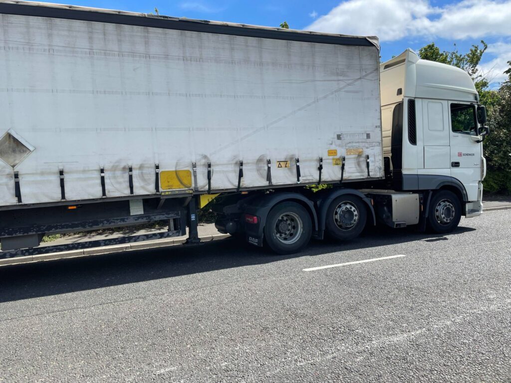 Lorry Truck on the Road