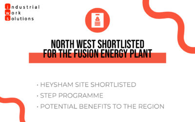 North West shortlisted for the new fusion energy plant.