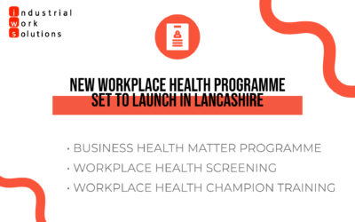 New Workplace Health Programme set to launch in Lancashire.