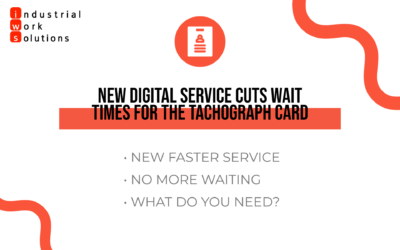New Digital Service Cuts Wait Times For The Tachograph Card