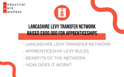 Lancashire Levy Transfer Network Raised £500.000 for Apprenticeships