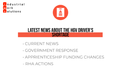 Latest news about the HGV Driver Shortage