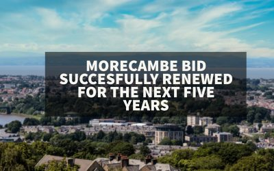 Morecambe BID successfully renewed for the next 5 years.