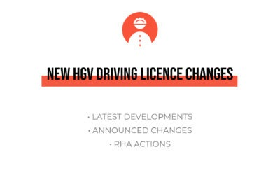 New HGV Driving Licence changes